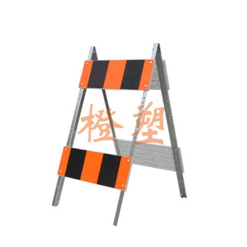 镀锌A型支架护栏
