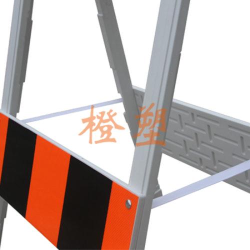 塑料A型支架护栏
