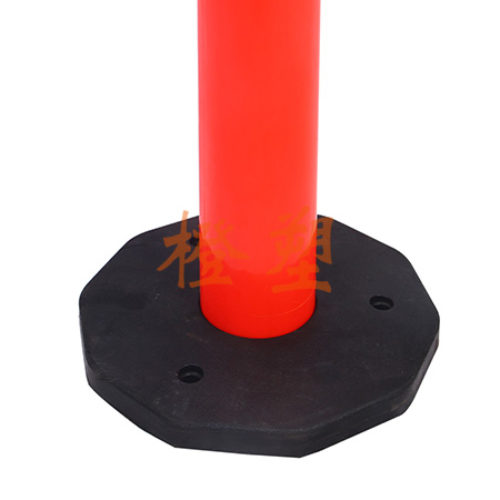 PU组合型橡胶底座弹性警示柱